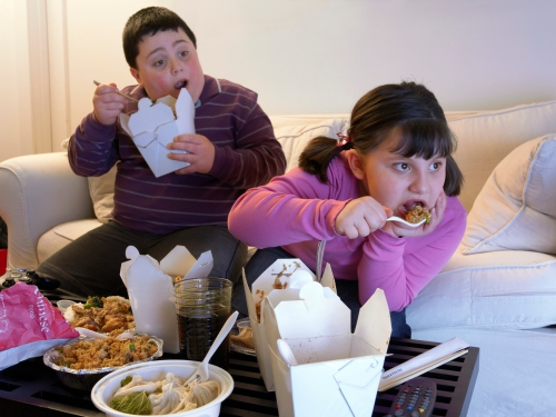Children overeating