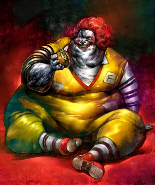 Recognize This Obese Clown?